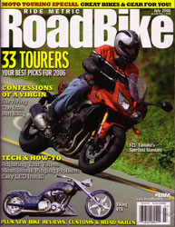 RoadBike Magazine July 2006 Cover