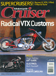Motorcycle Cruiser Cover
